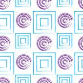 Бесшовный геометрический фон — Cтоковый вектор
