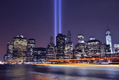 Tribute lights — Stock Photo