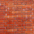 Background of a red brick wall — Stock Photo #10760068