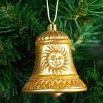 Christmas Toy on the Christmas tree — Stock Photo