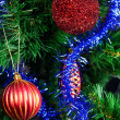Christmas Toy on the Christmas tree — Stock Photo #13693114