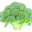 Big broccoli isolated on white — Stock Photo