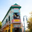 Stock Photo: Colorful building in LBocneighborhood of Buenos Aires,Ar