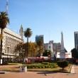 View of the Plaza de Mayo in Buenos Aires, Argentina — Stock Photo #36740455