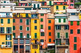 Cinque terre house style — Stock Photo