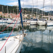 Marina Harbor's Sailing boats - Stock Photo