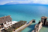 Water Castle in Sirmione — Stock Photo