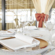 Wedding catering setting - Stock Photo