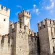 Scaliger Castle in Sirmione - Stock Photo