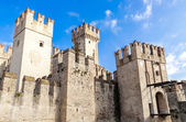 Scaliger Castle in Sirmione — Stock Photo