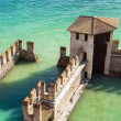 Water Castle in Sirmione - Stock Photo