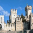 Sirmione Scaliger Castle - Stock Photo