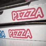 Pizza cardboard — Stock Photo #3402387