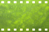 Green nature film strip — Stock Photo