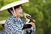 Japanese Enka show — Stock Photo