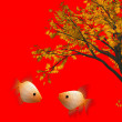 Stock Photo: Chinese new year background