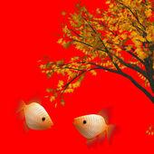 Chinese new year background — Stock Photo