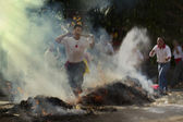 Ogień ceremonii na tajwanie — Zdjęcie stockowe