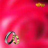 Modern ring — Stock Photo