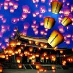 Sky lantern — Stock Photo #21369153