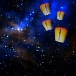Sky lantern — Stock Photo #21369197