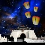 Sky lantern — Stock Photo #21369225