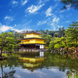 Japan's view of the Golden Pavilion — Stock Photo