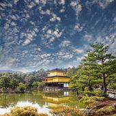 Goldene tempel japan — Stockfoto