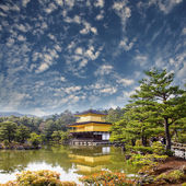 Złota świątynia japonii — Zdjęcie stockowe