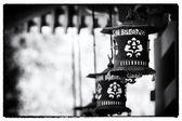Lanterns at temple - Japan — Stock Photo