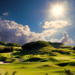 Simply golf image — Stock Photo