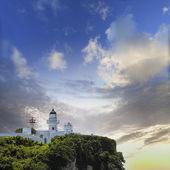 маяк гаосюн, тайвань — Стоковое фото