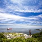 Beautiful view of Kaohsiung, Taiwan — Stock Photo
