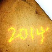 Pień fotografia 2014 — Zdjęcie stockowe