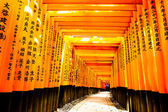 Fushimi Inari Taisha Shrine - Kyoto — Foto de Stock