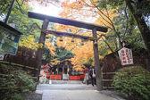 Fall season in Kyoto — Stock Photo