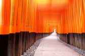Fushimi Inari Taisha Shrine in Kyot — Stock Photo