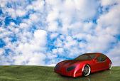 Niemarkowych ogólna koncepcja samochodu — Zdjęcie stockowe