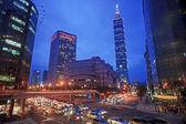 Nice view of Taipei City, Taiwan — Stock Photo