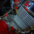 Stock Photo: Motor engine
