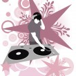 Retro DJ - Stock Photo
