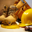 Safety construction - Stockfoto