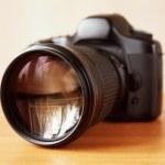 SLR camera — Stock Photo