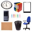 Office set — Stock Photo