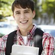 Happy student — Stock Photo #15809083