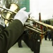 Army brass  band - Stock Photo