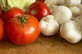 Verduras frescas húmedas — Foto de Stock