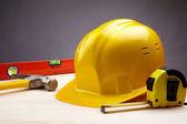 Construction items — Stock Photo