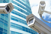 Telecamere di sorveglianza — Foto Stock