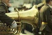 Army brass band — Stock Photo